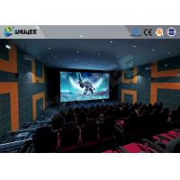 5.1 Audio System 4D Big Movie Theater With Red Standard Chair Manufactures