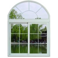 Buy cheap Soundproof White / Blue Sliding Aluminum Frame Windows With ROTO / SIEGENIA Hardware from wholesalers