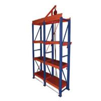 Buy cheap Warehouse Racking Systems Mold Racking , 1m - 1.5m Movable Storage Racks from wholesalers