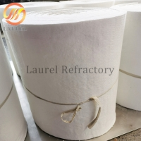 Buy cheap Pure white fire resistant Ceramic fiber Refractory blanket for pipe insulation material from wholesalers