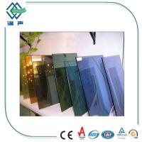 Buy cheap Customized large Reflective Glass Sheet for shop display windows , Interior glass screens from wholesalers