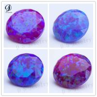 Buy cheap Round Shape Facetted Cut Snythetic gemstone turquoise from wholesalers