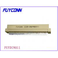 Buy cheap 96P Plug R Type Vertical Euro DIN 41612 Connector Male Straight PCB Connector from wholesalers
