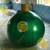 Buy cheap Christmas Decoration Custom Shaped Balloons Eye - Catching Mirror 0.25mm Pearl Color from wholesalers