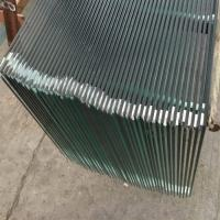 Buy cheap clear folat tempered glass 6mm price m2 ,tempered glass panels used for commercial buildings from wholesalers