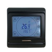 Buy cheap Black Color Heated Floor Thermostat Anti Flammable PC Housing Material from wholesalers