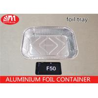 Buy cheap F50 Aluminum Roasting Pan Disposable Container 2400ml Volume Pollution Free from wholesalers