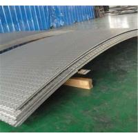Buy cheap Grade 201 304 Stainless Steel Diamond Plate 2.0 - 8.0mm Width 1500mm from wholesalers