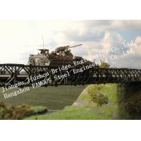 Buy cheap Compact 200-type Single Span Military Bailey Bridge Quickly Installation for Army from wholesalers