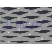 Buy cheap Electric Galvanized Aluminum Expanded Metal , White Metal Sheet With Holes from wholesalers