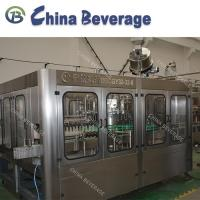 Buy cheap Glass Bottle Carbonated Soft Drink Filling Machine , Full Automatic Water Bottling Machine from wholesalers