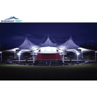 Buy cheap Big Tensile Membrane Structure Architecture Tent with Steel Structure for Landmark from wholesalers