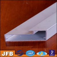 Buy cheap 2017 new design kitchen cabinet aluminium profile frame powder coated aluminum kitchen cabinet profile frame from wholesalers