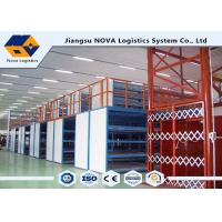 China Plywood Board Industrial Mezzanine Floors Racking System With Staircase on sale