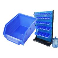 Buy cheap 150l large clear plastic storage bins box with lids from wholesalers