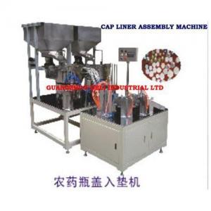 Cap liner wadding machine