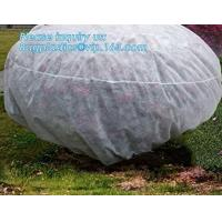 Buy cheap pp material woven fabric in tubular roll with black colour for agricultural mulch film, Biodegradable pp spunbond nonwov from wholesalers