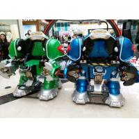 Buy cheap Walking Robot Shape Kiddie Bumper Cars Customized Color For Shopping Mall from wholesalers