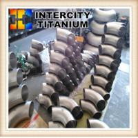 Buy cheap ASME/ANSI B16.9 GR2 GR7 GR12 Pipe Fitting Titanium Lap Joint Stub Ends from wholesalers