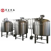 Buy cheap 500L 1000L Micro Beer Brewing Equipment , Microbrewery Equipment Long Life from wholesalers