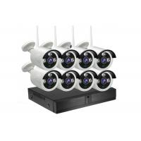 Buy cheap Outdoor 8 Channel NVR CCTV Kit H.265 1080P 2.0MP HD WIFI Wireless IP Cameras from wholesalers