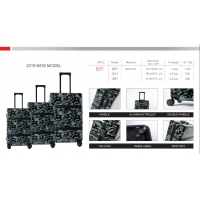 Wholesale TSA Lock Floral Printing Business PC Travel Luggage from china suppliers