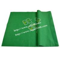 Green tablecloth /non-woven / Baccarat / 7 people / tablecloth /tablecloth for game