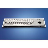 ZT599B Stainless Steel and Polymer Vandal - Proof Kiosk Metal  Keyboard Manufactures