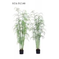 Buy cheap Multi Stems Artificial Hanging Fern Plants 360 Degree Viewing UV Resistance from wholesalers