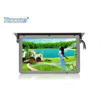 Buy cheap Motorized Roof  LCD Touch Screen Monitor 19 Inch Built In SD / USB / HDMI Port from wholesalers