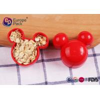 Buy cheap Mickey Mouse Cookie Cutter Plastic Kitchenware 11G For Children 6.2Cm from wholesalers