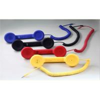 Buy cheap Fashionable Blue, Red, Black, Yellow Telphone Retro Style Handset for Iphone from wholesalers