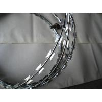 Buy cheap 2017 the best selling Electro galvanized or hot dipped Surface Treatment High Security Razor Blade Barbed Wire from wholesalers