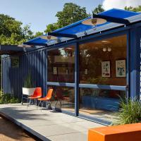 Buy cheap Modern Design Modular 40ft Shipping Container house with Toilet and kitchen from wholesalers