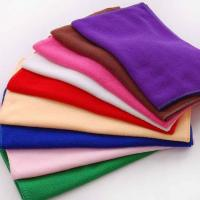 Buy cheap Microfiber towel 30x30 Glass cleaning cloth from wholesalers