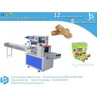 Buy cheap Best Price Pillow Type Chocolate Granola Protein Bar Packing Machine Automatic Bread Bar Soap Mushroom Packaging Machine from wholesalers