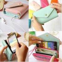 Wholesale Universal Pouch Wallet PU Leather Cover Case iPhone 6Plus SamsungGalaxy S3 S4 S5 Note3 4 5 from china suppliers