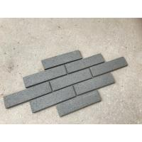 M36443 Decorative Grey Split Face Brick Customized Size No Color Fade For Wall Manufactures