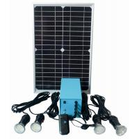 Buy cheap Solar portable LED lamp with FM radio from wholesalers