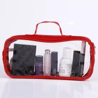 Buy cheap Eco - Friendly PVC Cosmetic Bag With Silk Screen Heat Transfer Printing from wholesalers
