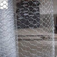 Buy cheap Electro Galvanized Chicken Hexagonal Wire Mesh 1'' Low Carbon Steel / Stainless Steel Wire from wholesalers