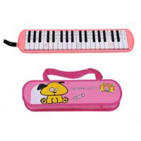 Wholesale ABS Plastic Shell Copper board 37 key Melodica kids toy with Cartoon leather box-AGME37A-1 from china suppliers