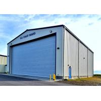 Buy cheap Gable Style Military Steel Structure Aircraft Hangar Prefabricated Steel Structure from wholesalers