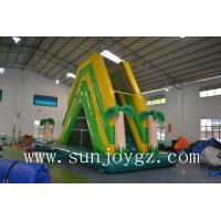 Buy cheap Jungle Inflatable Water Slide  On Land Aqua Water Park Kids Amusement Park from wholesalers