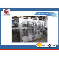 Wholesale High Accuracy Carbonated Drinks Filling Machine 2000 - 3000BPH For Soda Sparkling Water from china suppliers