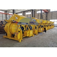 Wholesale 12 - 14m³ / H Diesel Construction Equipment, 22hp Small Batch JZR500 Diesel Concrete Mixer from china suppliers
