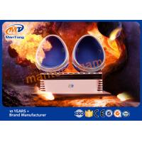 Buy cheap White Egg 9D VR Cinema Virtual Reality Simulator Games For Mall from wholesalers
