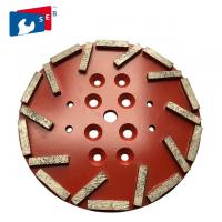 Buy cheap 115mm Swirly Shape Diamond Cup Wheel Apply To Stone Grinding Machine from wholesalers
