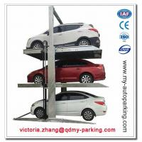Buy cheap Two Post Triple Parking Lift for 3 Cars Hydraulic Garage Storage Lift from wholesalers