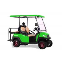Buy cheap Green Color Multi Passenger Golf Carts , High End 4 Seater Electric Golf Buggy from wholesalers